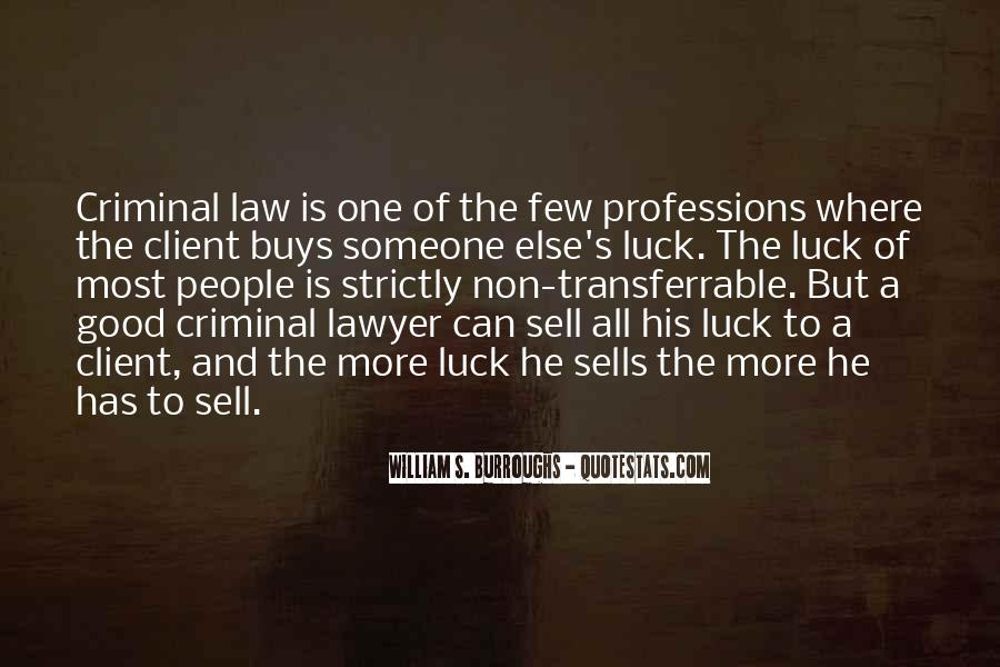 Lawyer Client Quotes #1605550