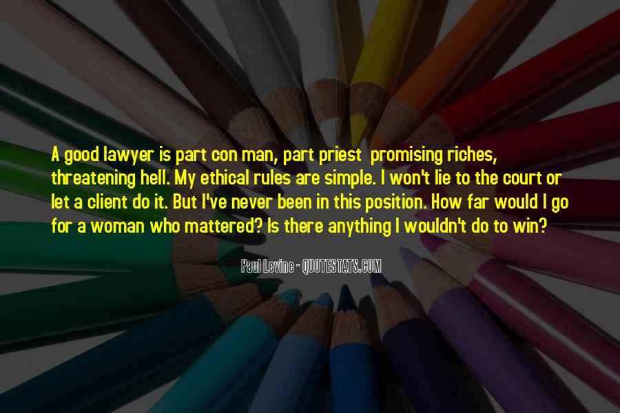 Lawyer Client Quotes #222887