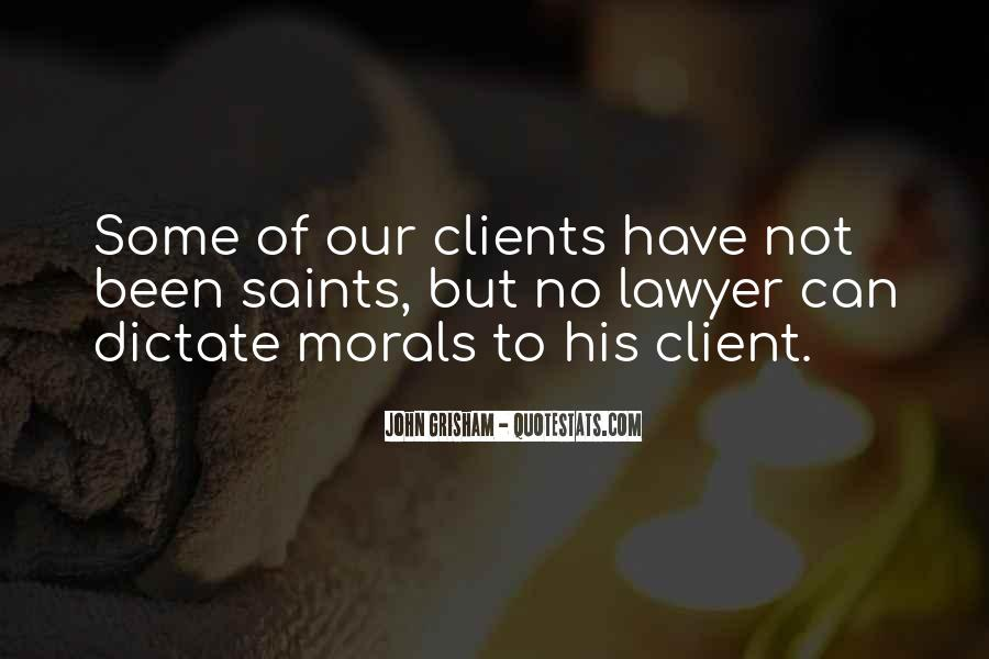 Lawyer Client Quotes #349222