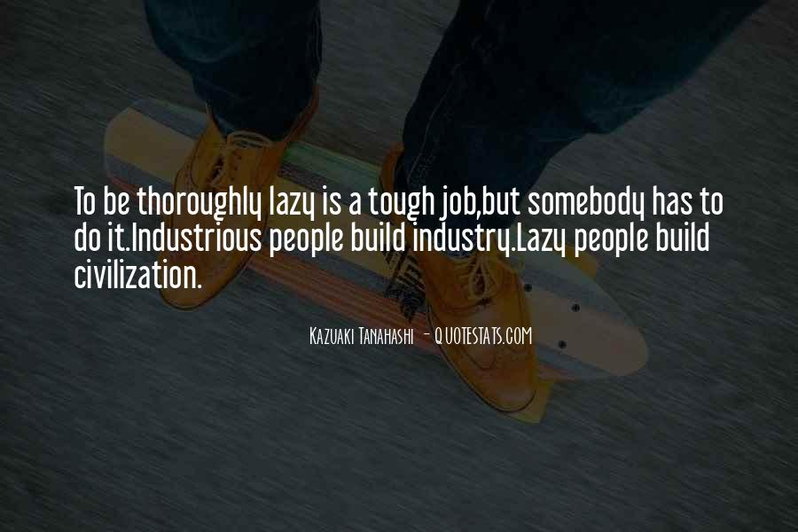 Lazy Job Quotes #146813