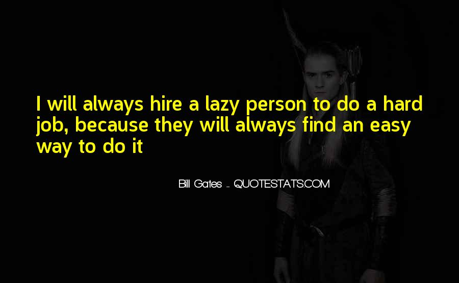 Lazy Job Quotes #729584