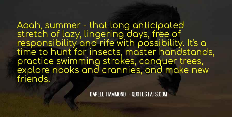 Lazy Summer Days Quotes #489506