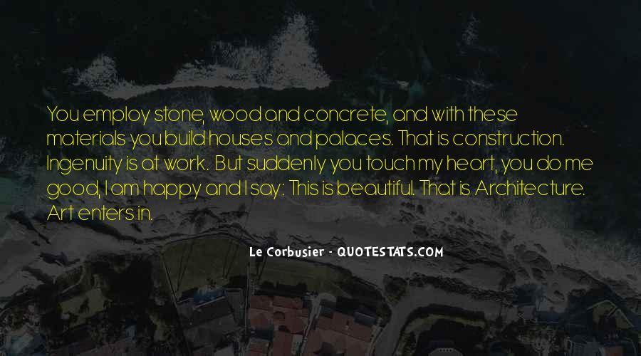 Le Corbusier Art Quotes #1488952