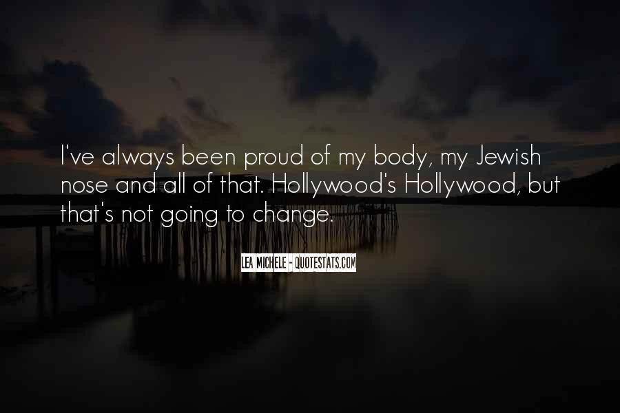 Lea Michele Nose Quotes #1519192