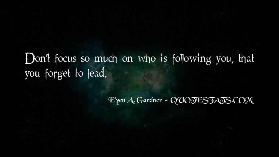 Lead By Example Leadership Quotes #1378000