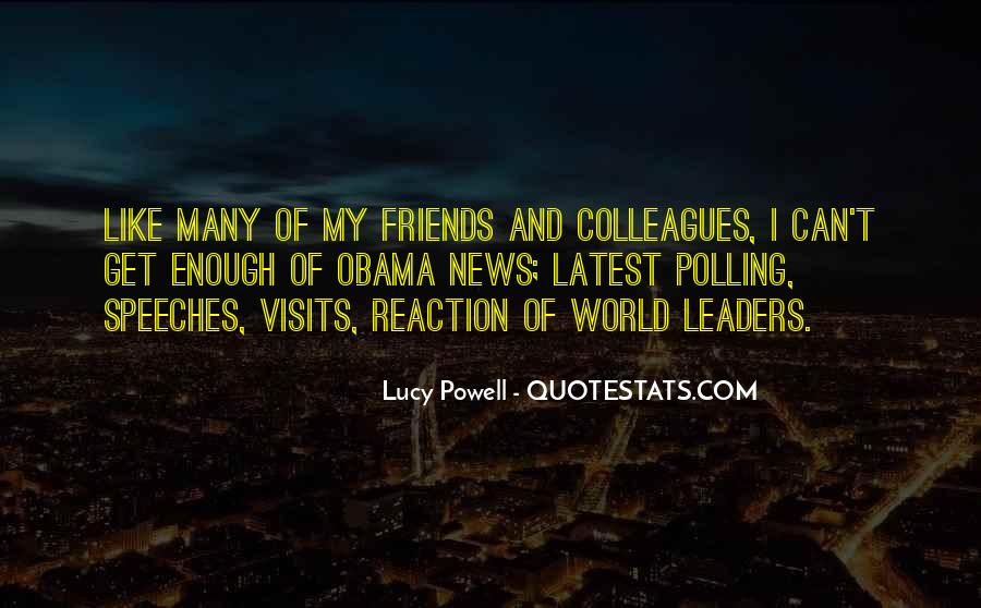 Leaders And Friends Quotes #1151766