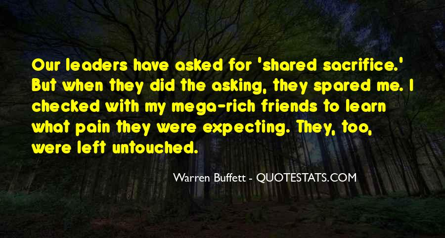 Leaders And Friends Quotes #8084