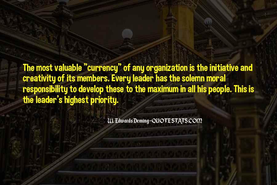 Leadership Initiative Quotes #1805901