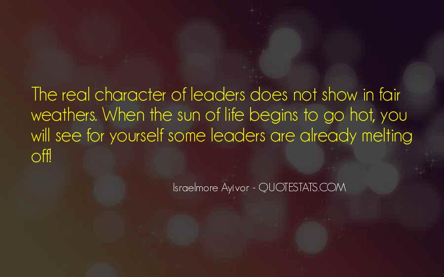 Leadership Personal Development Quotes #1368312