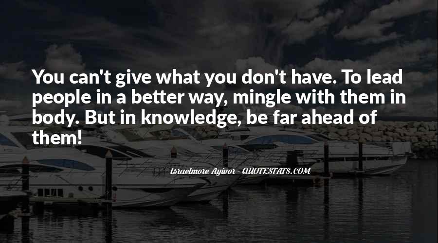 Leadership Personal Development Quotes #1492719
