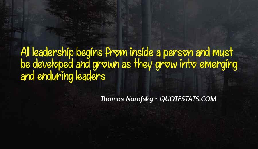 Leadership Personal Development Quotes #151892