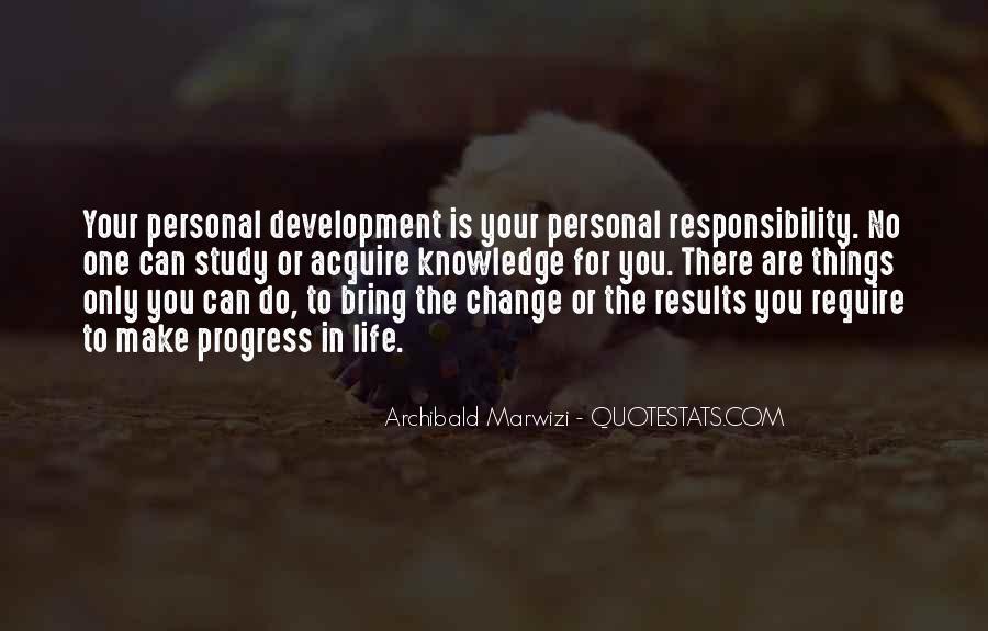Leadership Personal Development Quotes #1545717