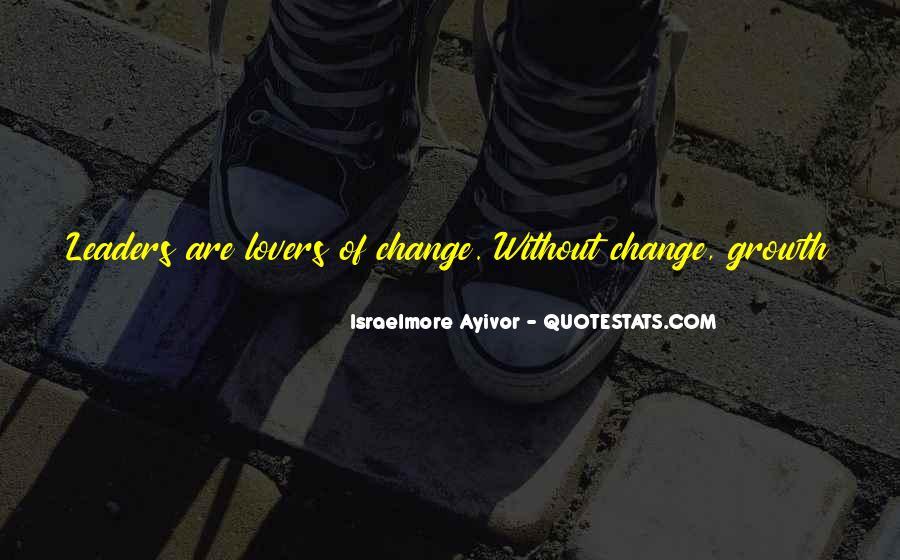 Leadership Personal Development Quotes #1751814