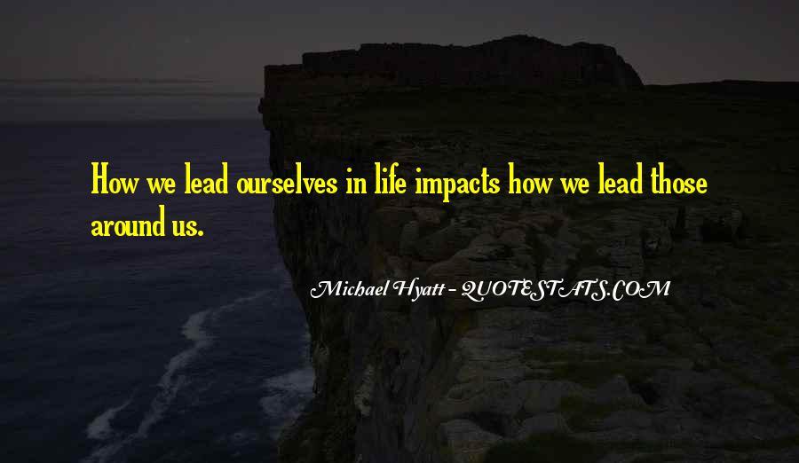 Leadership Personal Development Quotes #328306