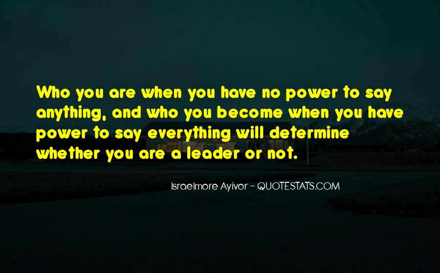 Leadership Personal Development Quotes #353082