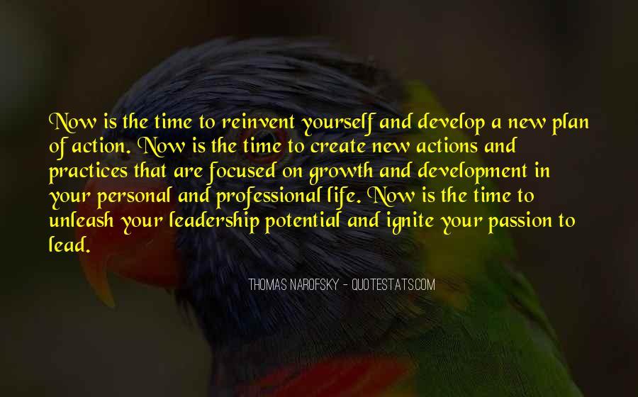 Leadership Personal Development Quotes #469276