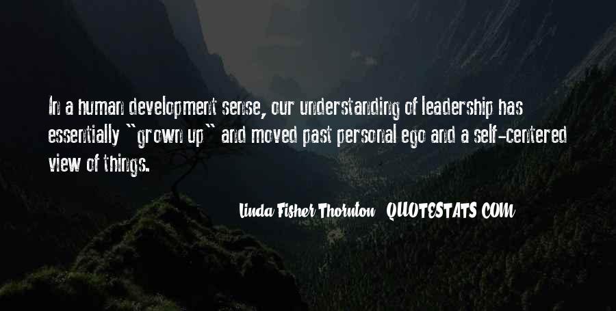 Leadership Personal Development Quotes #70659