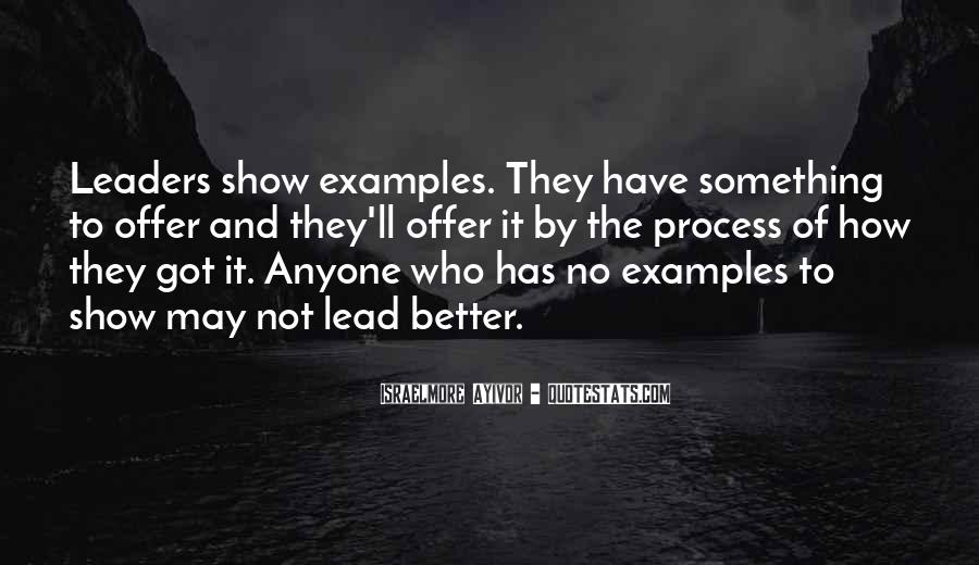 Leadership Personal Development Quotes #765145