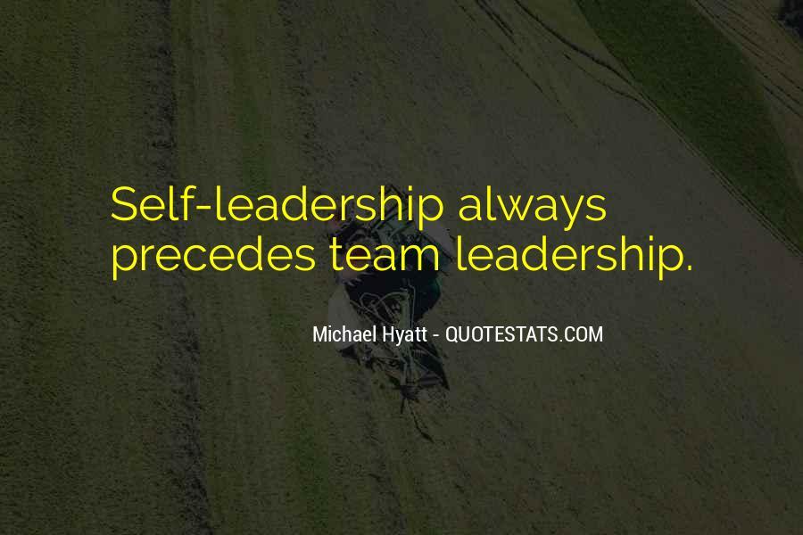 Leadership Personal Development Quotes #79308