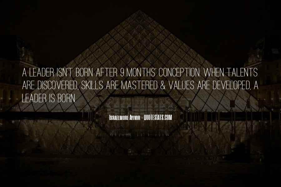 Leadership Personal Development Quotes #802653