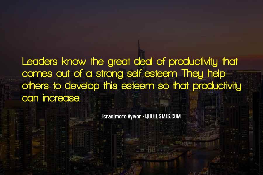 Leadership Personal Development Quotes #831266