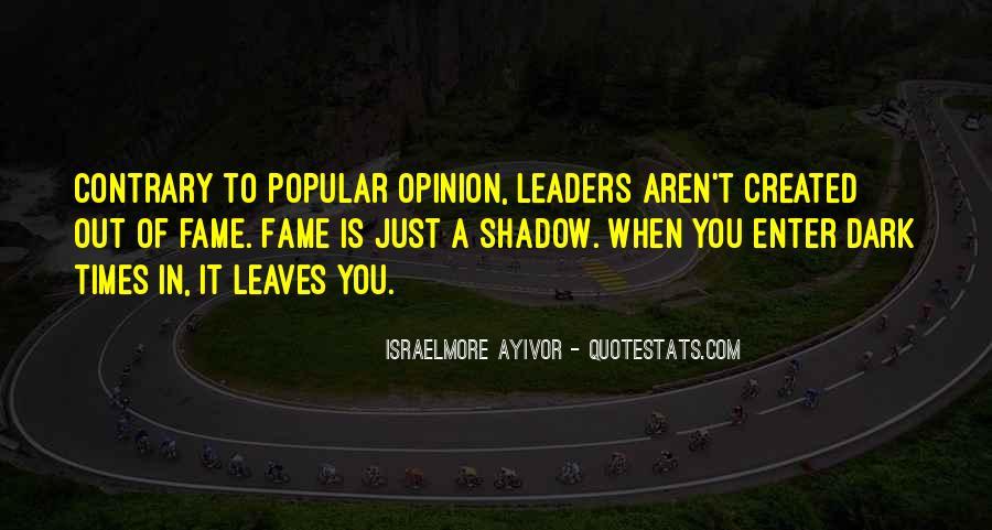 Leadership Personal Development Quotes #855108