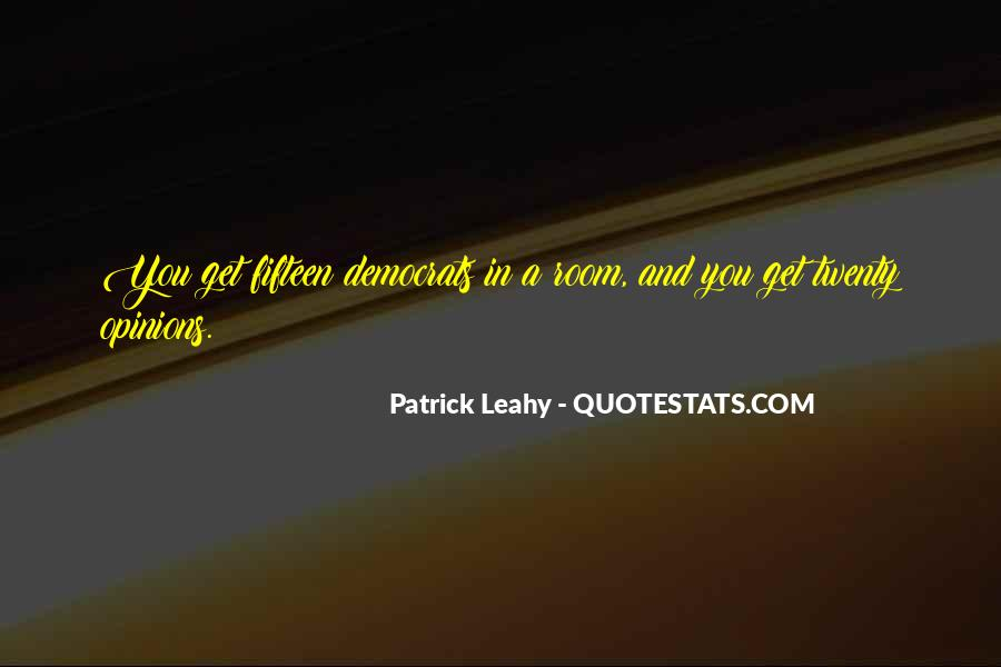 Leahy Quotes #141784