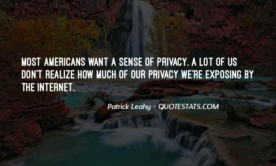 Leahy Quotes #305243