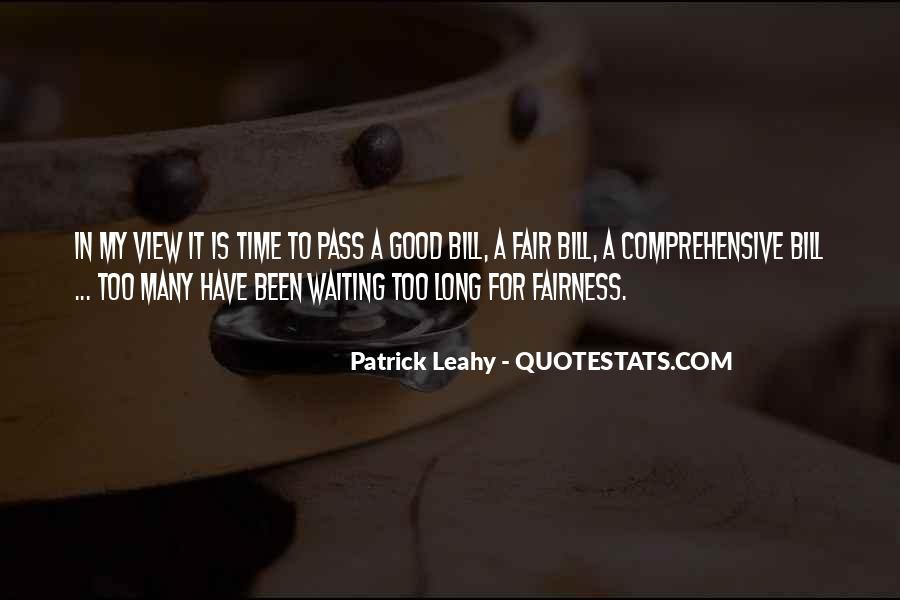 Leahy Quotes #733021