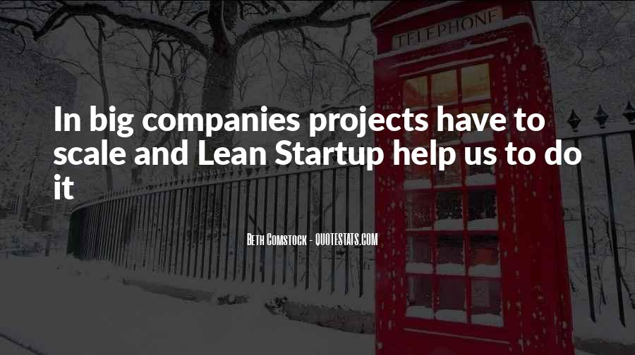 Lean Startup Quotes #1464685