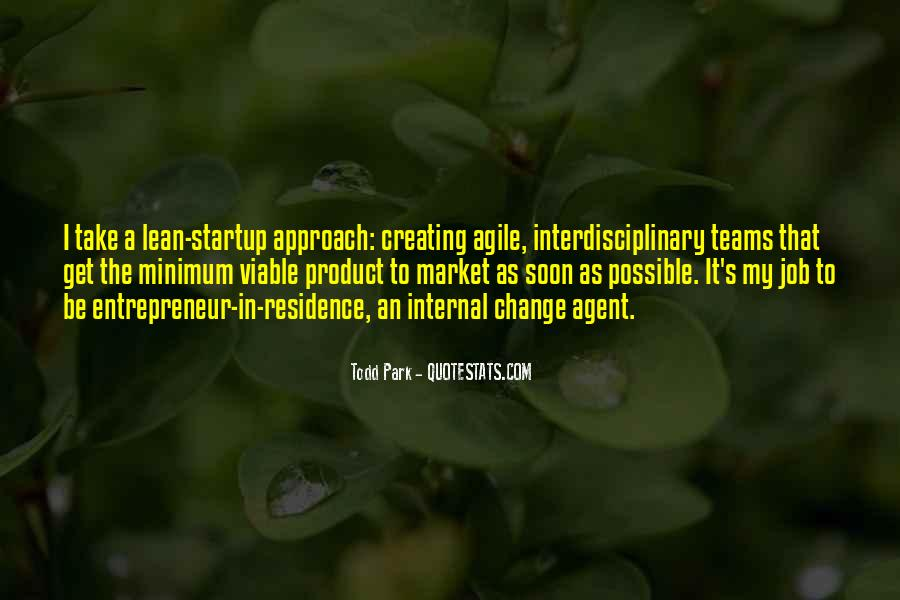 Lean Startup Quotes #1605052