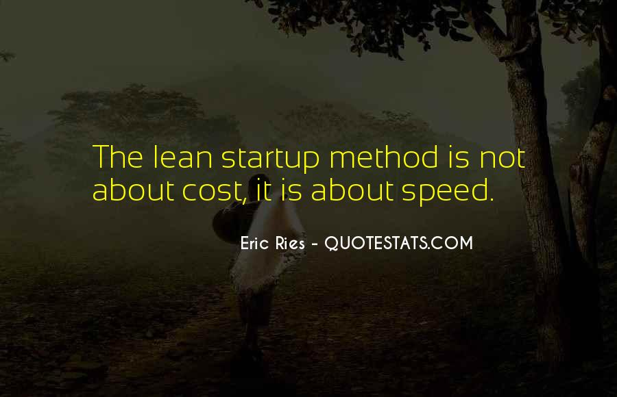 Lean Startup Quotes #164080