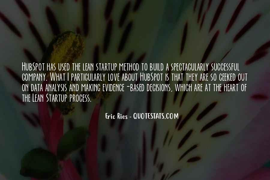 Lean Startup Quotes #215073