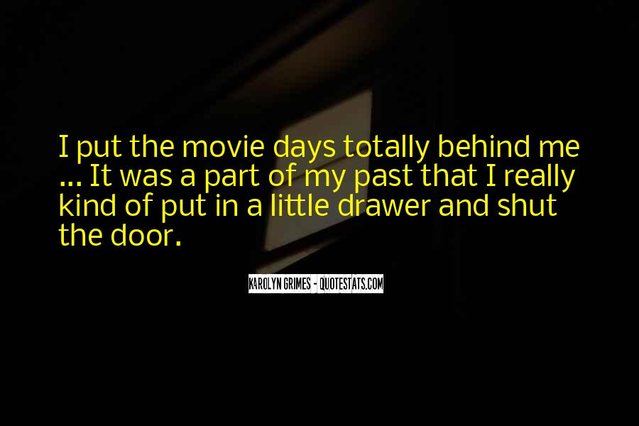 Quotes About Drawer #375331