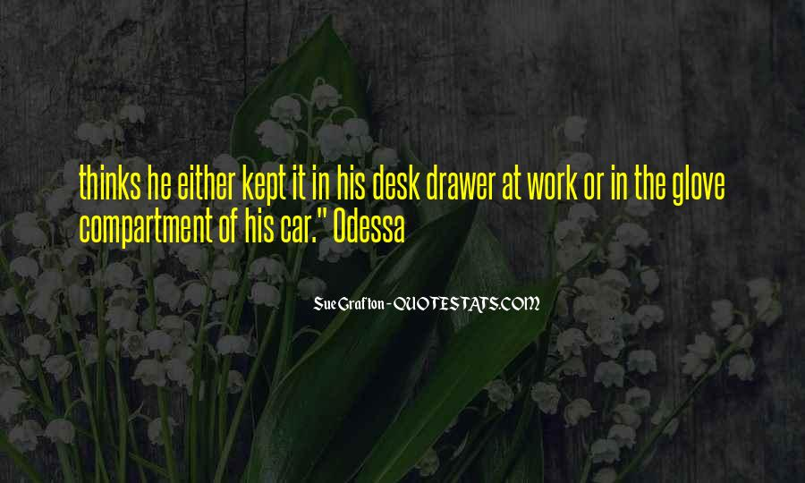 Quotes About Drawer #494067