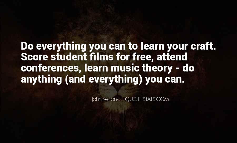 Learn Everything You Can Quotes #1113612