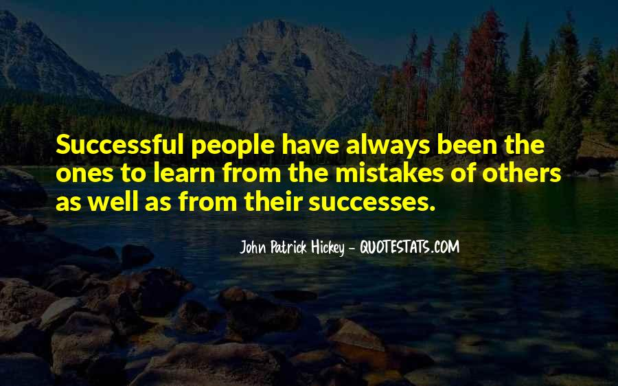 Learn From Others Mistakes Quotes #1345693