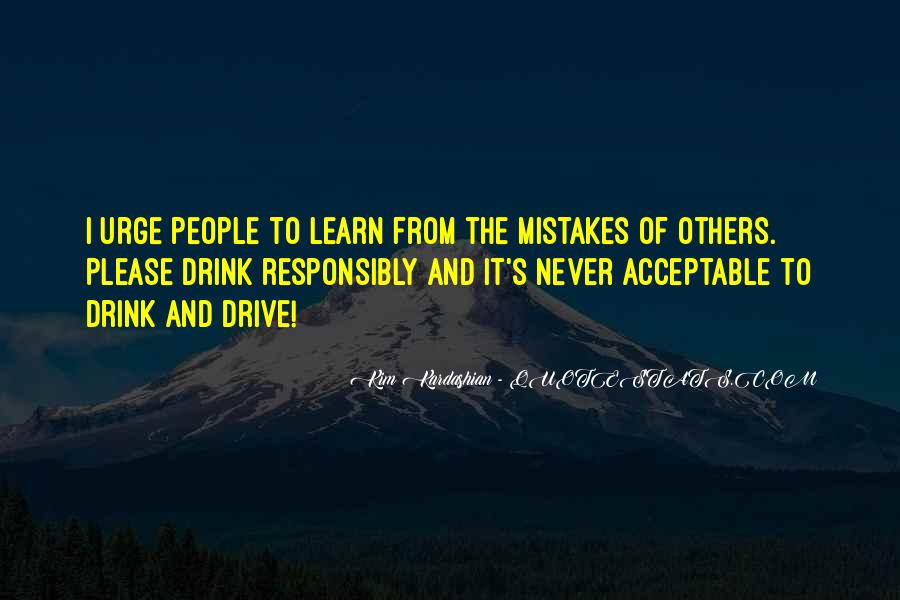 Learn From Others Mistakes Quotes #1474081