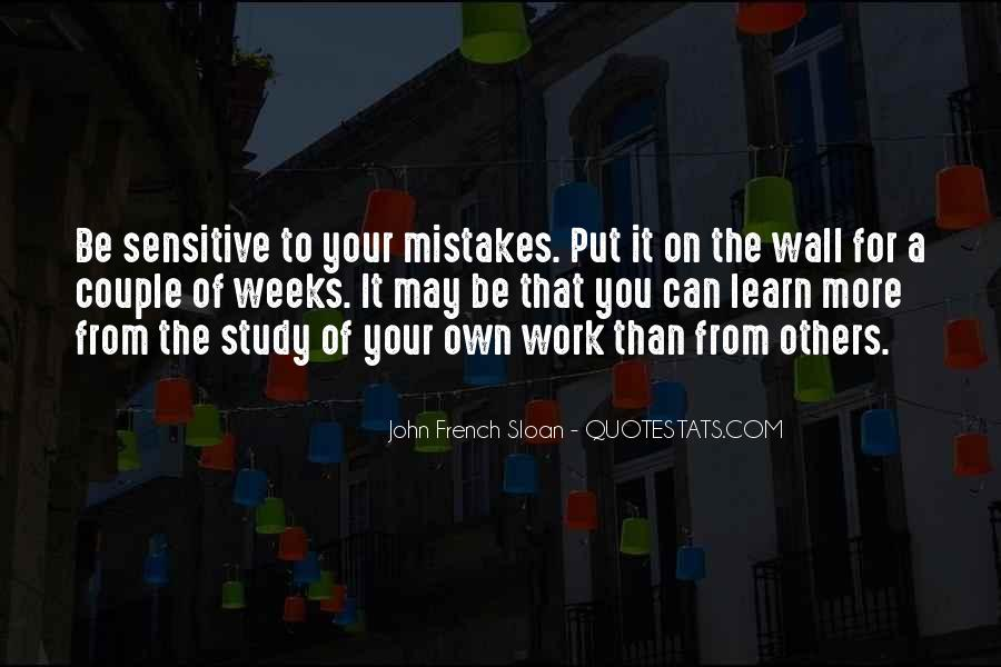 Learn From Others Mistakes Quotes #1611438