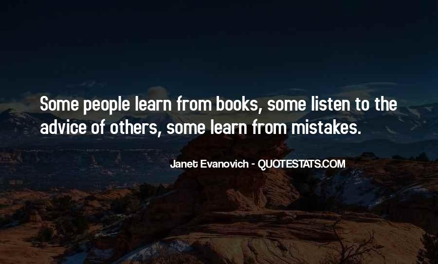 Learn From Others Mistakes Quotes #1625704