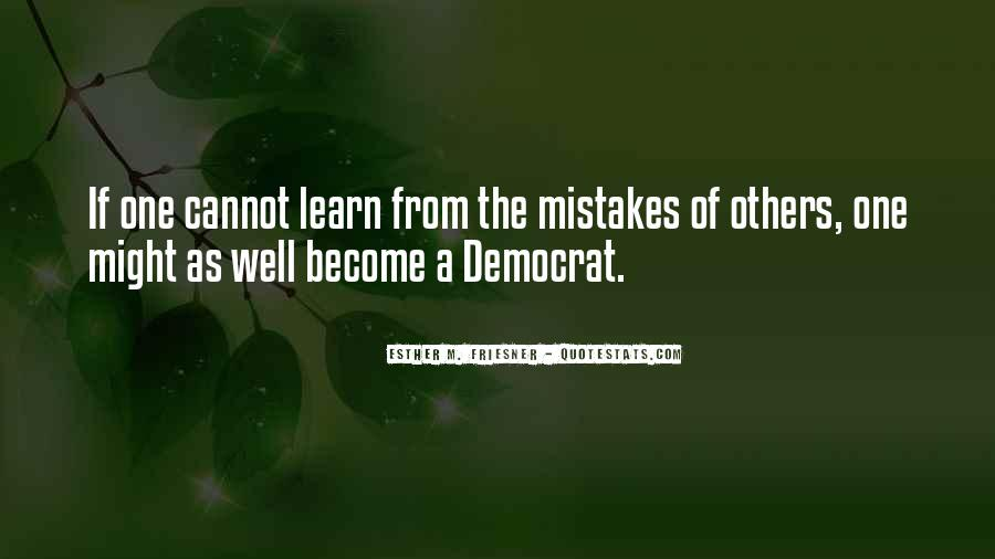 Learn From Others Mistakes Quotes #29232