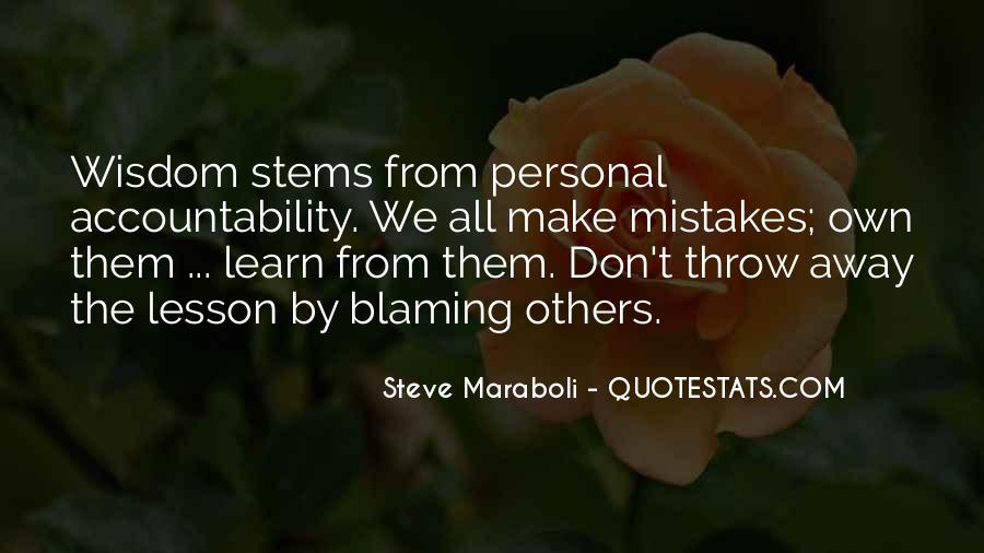 Learn From Others Mistakes Quotes #301478
