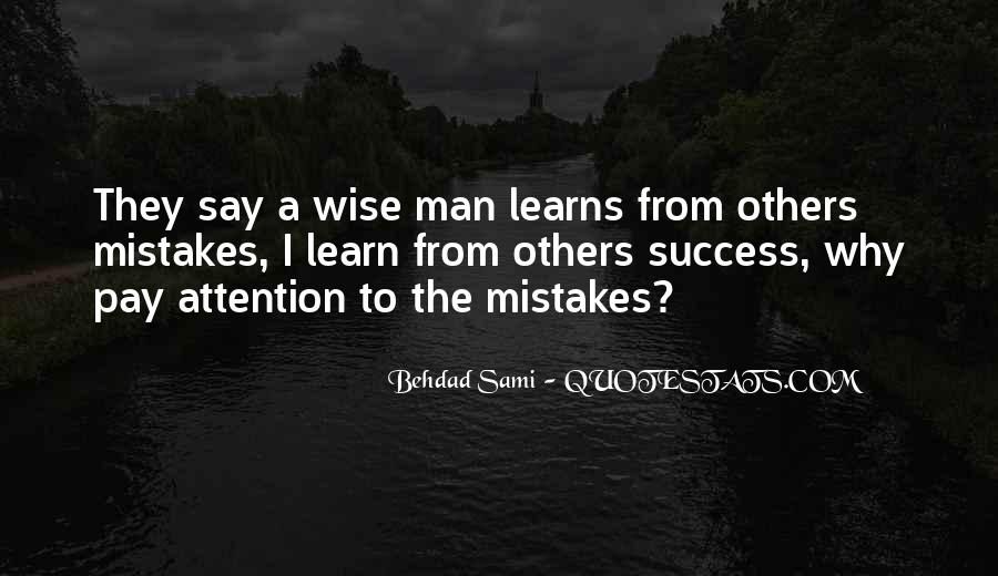 Learn From Others Mistakes Quotes #498010