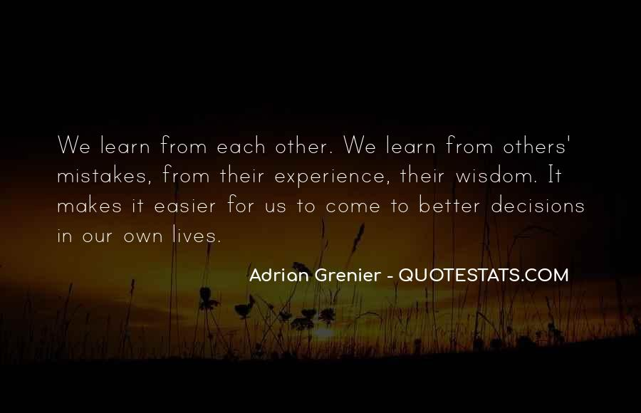 Learn From Others Mistakes Quotes #643396