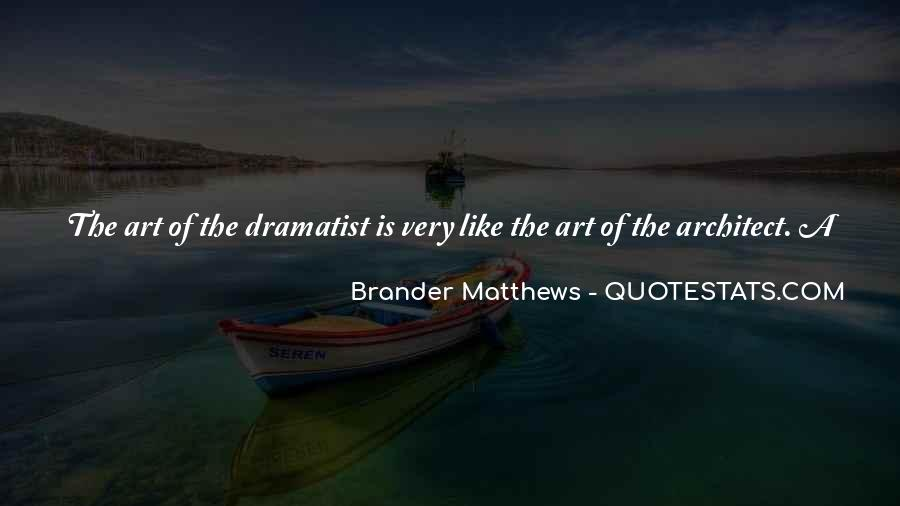 Quotes About Dramatist #582663