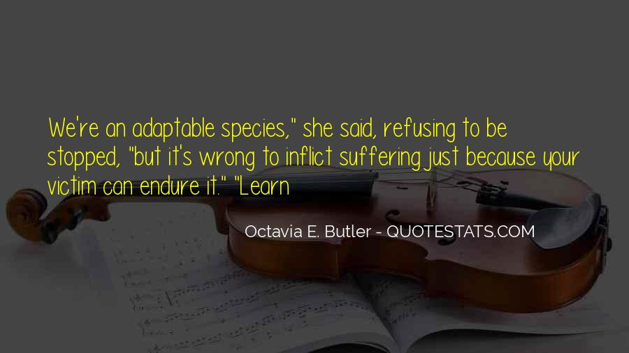 Learn To Endure Quotes #1143288