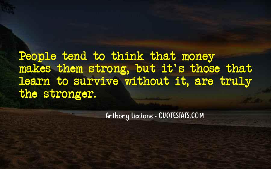 Learn To Endure Quotes #1231418