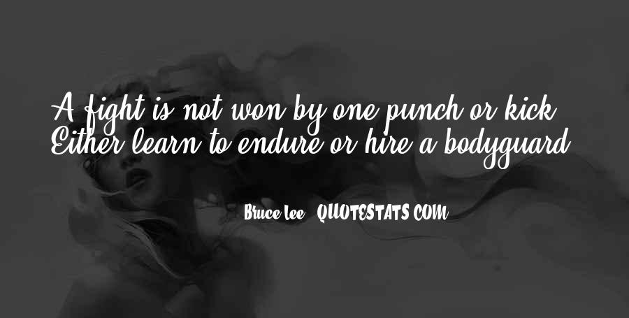 Learn To Endure Quotes #1418119