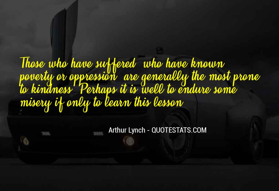 Learn To Endure Quotes #1534850
