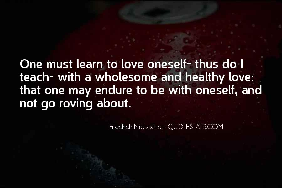 Learn To Endure Quotes #1540249
